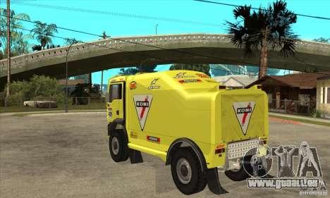 MAN TGA Rally OFFROAD für GTA San Andreas rechten Ansicht