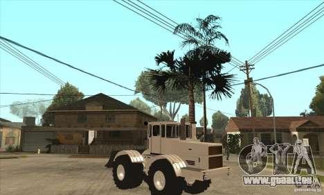 KIROVETS K701 Traktor Schlepper für GTA San Andreas Rückansicht