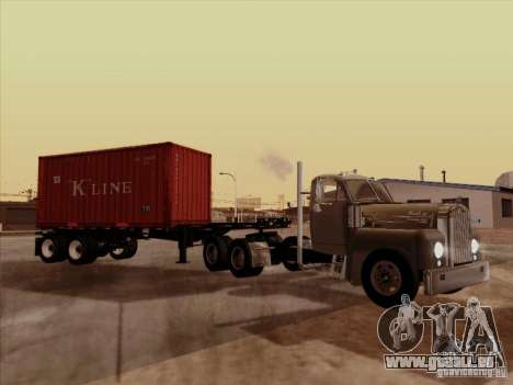 Container pour GTA San Andreas