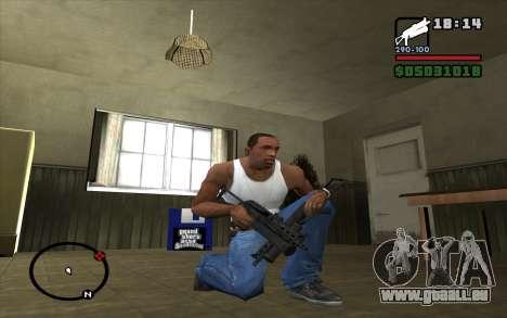 PP-19 Bizon für GTA San Andreas dritten Screenshot