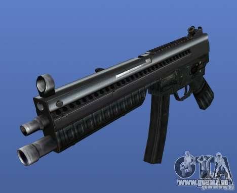 Heckler & Koch MP5 für GTA 4