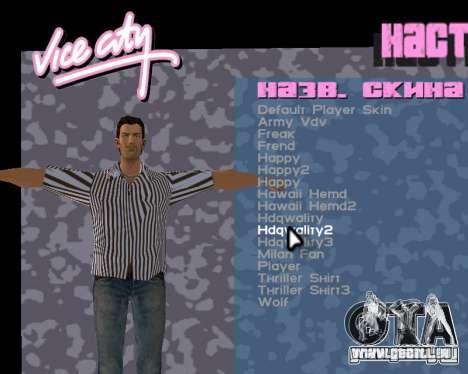 Tommy peau pour GTA Vice City cinquième écran