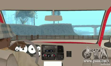 Chevrolet Tahoe 1992 pour GTA San Andreas vue arrière