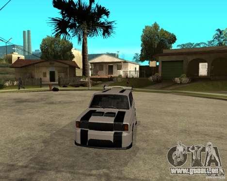 VAZ 2104 schwer Tuning für GTA San Andreas Rückansicht