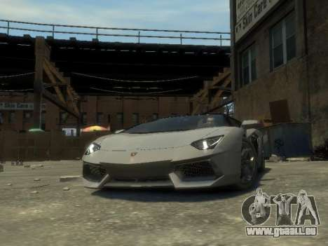 Lamborghini Aventador LP700-4 EPM für GTA 4 Rückansicht