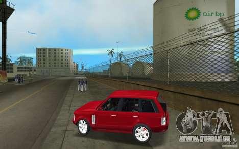 Range Rover Vogue 2003 pour une vue GTA Vice City de la gauche