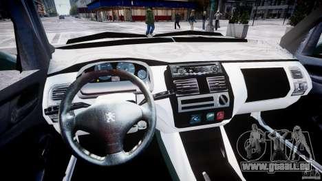 Peugeot 106 Quicksilver pour GTA 4 est une vue de l'intérieur