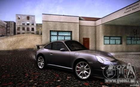 Porsche 911 GT3 (997) 2007 für GTA San Andreas rechten Ansicht