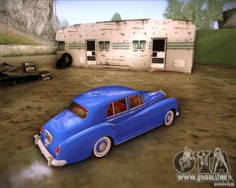 Rolls Royce Silver Cloud III pour GTA San Andreas laissé vue