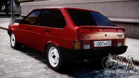 VAZ-21093i für GTA 4-Motor