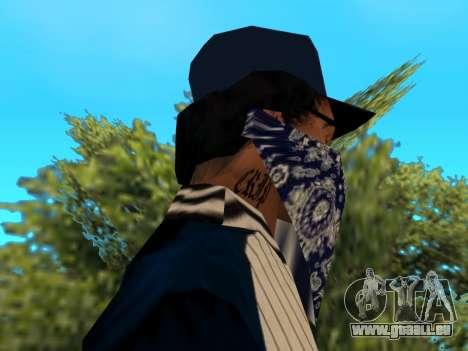 CripS Ryder pour GTA San Andreas troisième écran