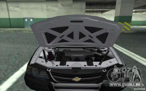 Chevrolet Impala 2003 SFPD pour GTA San Andreas vue de droite