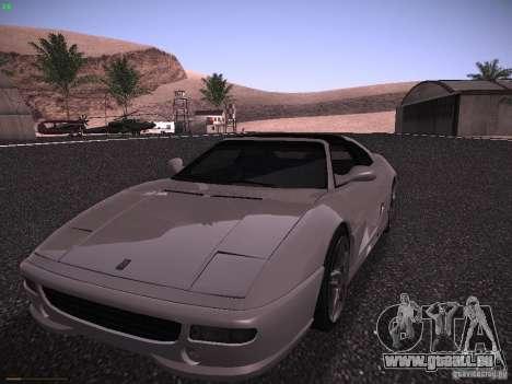 Ferrari F355 Targa pour GTA San Andreas laissé vue