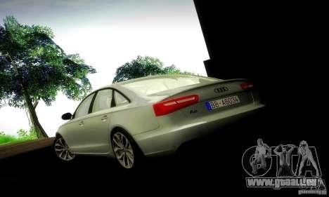 Audi A6 2012 pour GTA San Andreas salon