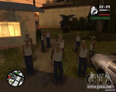 CJ Gopnik pour GTA San Andreas