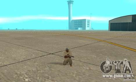Actdead pour GTA San Andreas deuxième écran