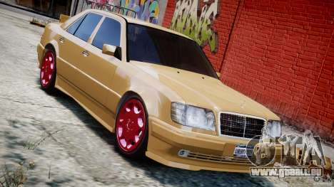 Mercedes-Benz W124 E500 1995 pour GTA 4 Salon