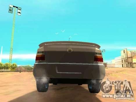 Chevrolet Astra Hatch 2010 für GTA San Andreas zurück linke Ansicht
