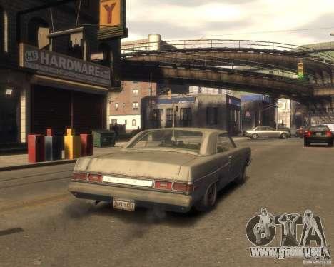 1975 Dodge Dart Rust für GTA 4 hinten links Ansicht
