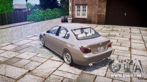 BMW E60 M5 2006 für GTA 4 hinten links Ansicht