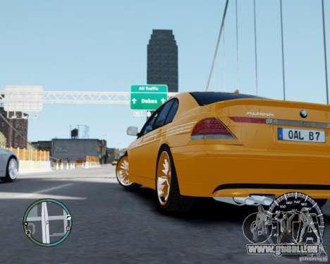 BMW Alpina B7 für GTA 4 linke Ansicht