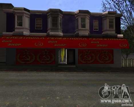 Stocke la restructuration pour GTA San Andreas troisième écran