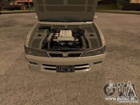 Chavos de Gta 4 pour GTA San Andreas sur la vue arrière gauche