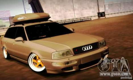 Audi RS2 Avant Thug für GTA San Andreas rechten Ansicht