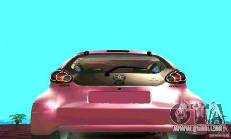 Toyota Aygo V1.0 pour GTA San Andreas vue de droite