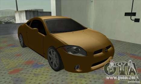 Mitsubishi Eclipse GT pour GTA San Andreas sur la vue arrière gauche