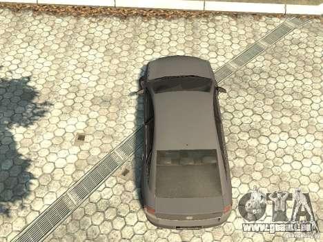 Opel Vectra pour GTA 4 Vue arrière