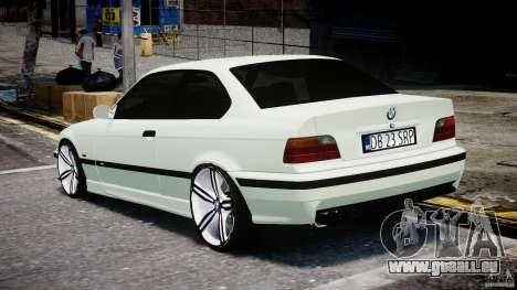 BMW e36 M3 für GTA 4 hinten links Ansicht