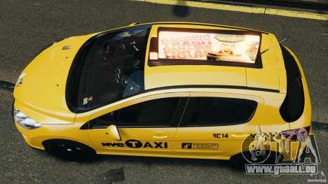 Peugeot 308 GTi 2011 Taxi v1.1 für GTA 4 rechte Ansicht