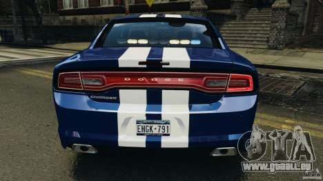 Dodge Charger Unmarked Police 2012 [ELS] für GTA 4-Motor