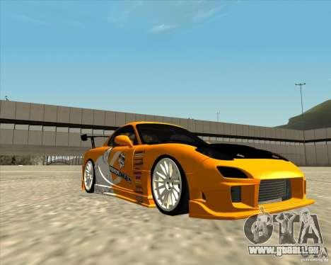 Mazda RX-7 sumopoDRIFT für GTA San Andreas