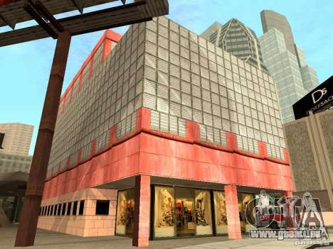 Neue Texturen Downtown Los Santos für GTA San Andreas neunten Screenshot