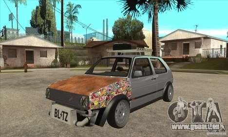 VW Golf Mk2 GTI pour GTA San Andreas