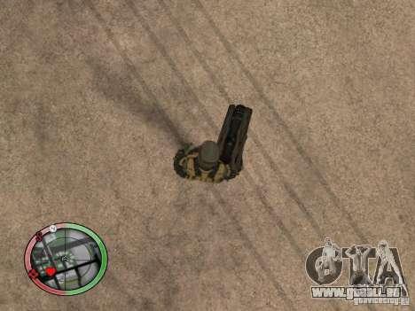 Armes exotiques de Crysis 2 v2 pour GTA San Andreas cinquième écran