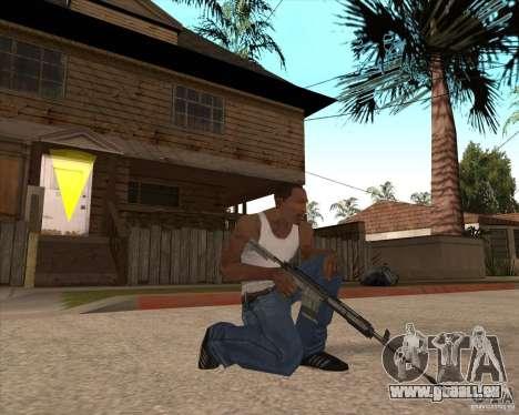 CoD:MW2 weapon pack pour GTA San Andreas dixième écran