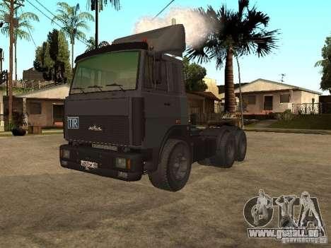Camion MAZ 5336 pour GTA San Andreas