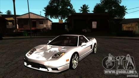 Acura NSX Stock pour GTA San Andreas