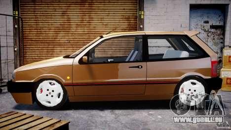 Fiat Tipo 1990 pour GTA 4 est une vue de l'intérieur