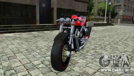 Suzuki Street Fighter Custom für GTA 4 hinten links Ansicht