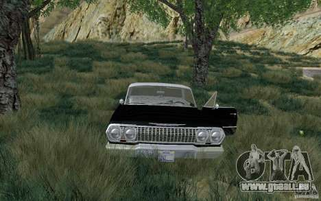 Chevrolet Impala 4 Door Hardtop 1963 für GTA San Andreas linke Ansicht