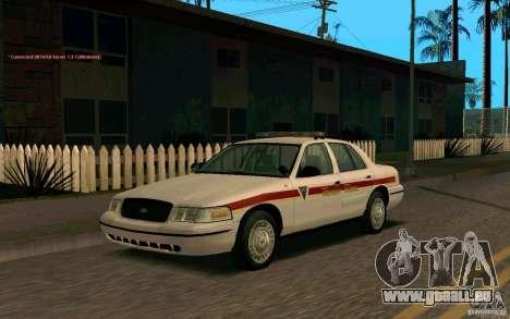 Ford Crown Victoria South Dakota Police pour GTA San Andreas