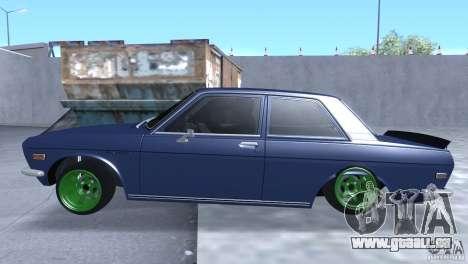 Datsun 510 Drift pour GTA San Andreas laissé vue