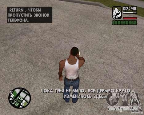 NES pour GTA San Andreas troisième écran