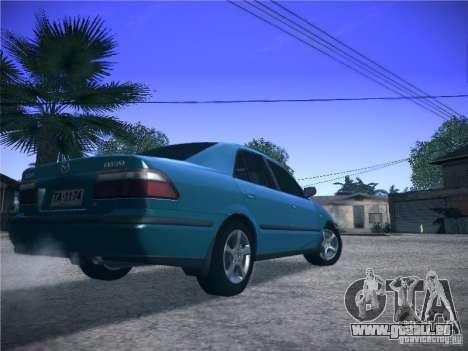 Mazda 626 GF 1999 für GTA San Andreas Rückansicht