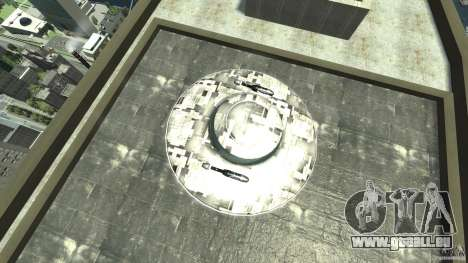 UFO ufo textured pour GTA 4 est un droit