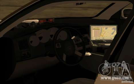 County Sheriffs Dept Dodge Charger für GTA San Andreas linke Ansicht